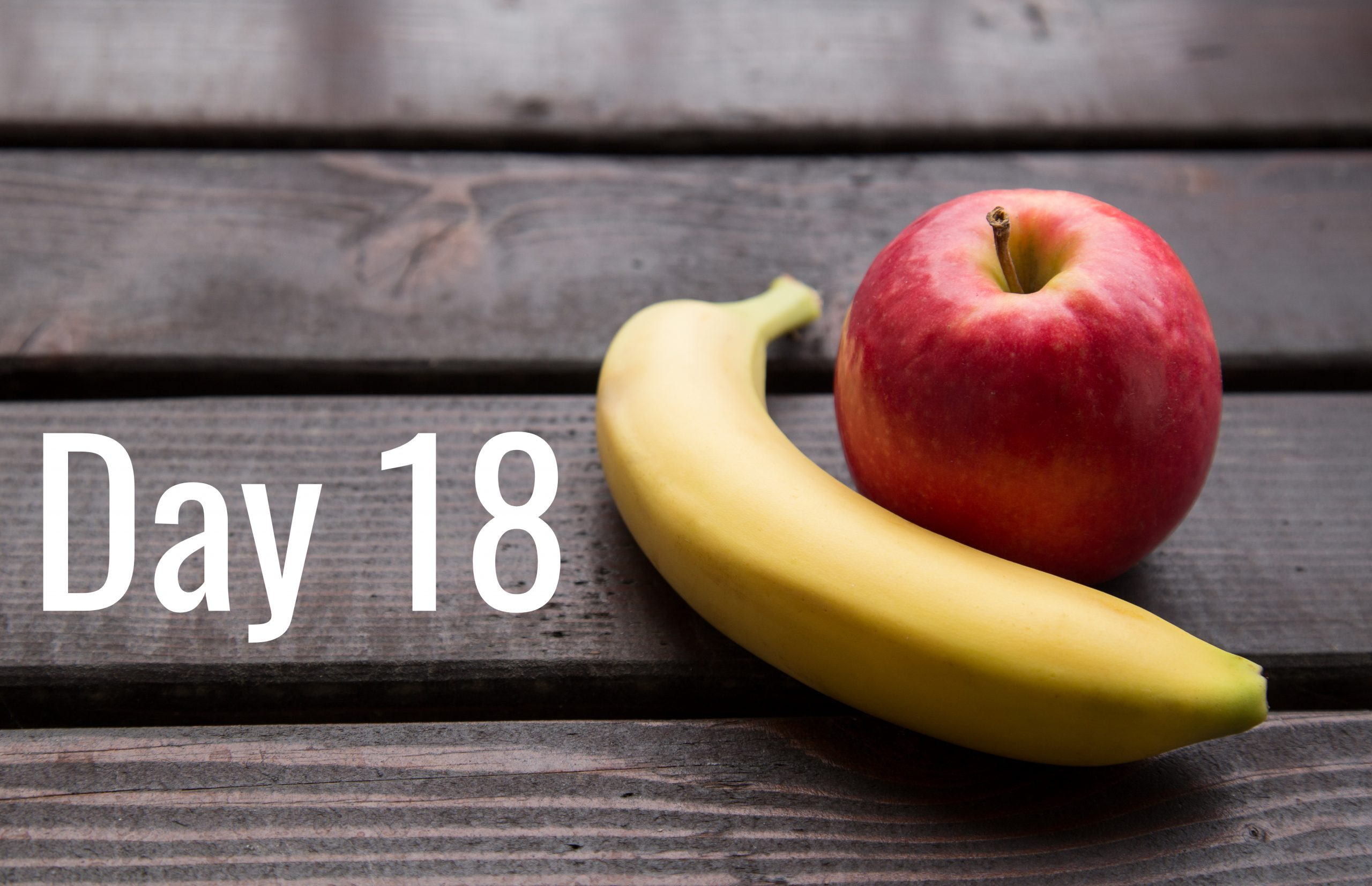 Day 18 – Resisting snack temptation