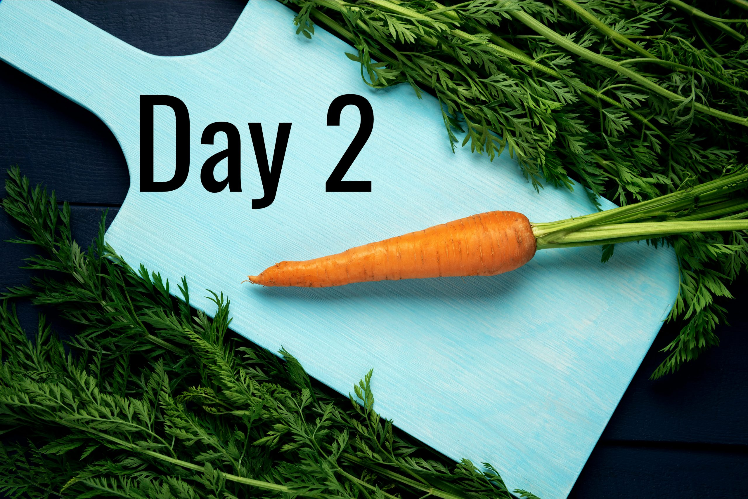 Day 2 – One more vegetable