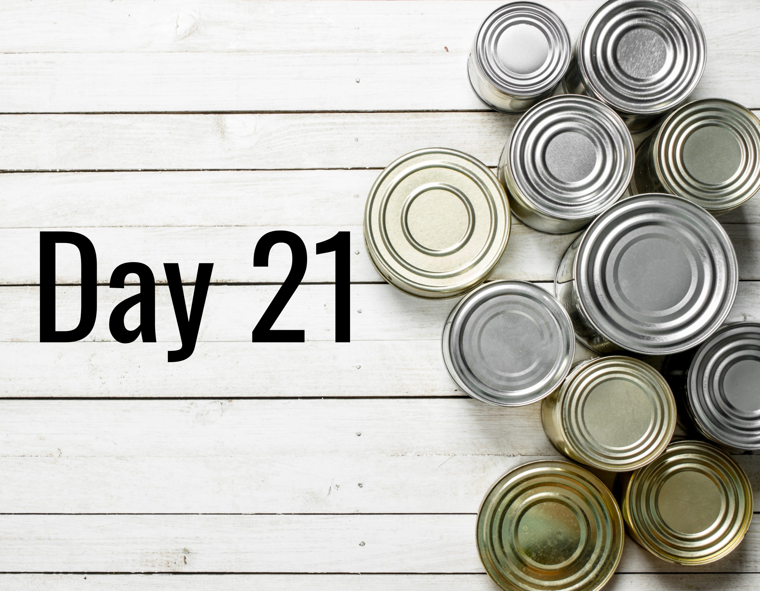 Day 21 – Fresh, frozen or tinned?