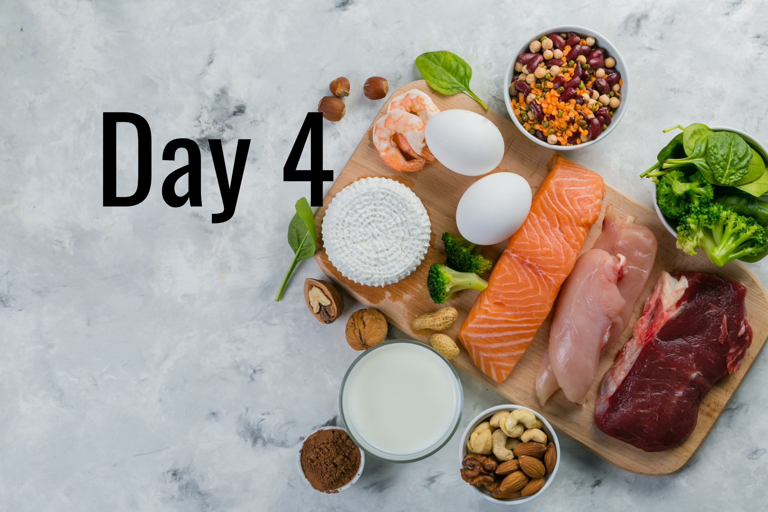 Day 4 – Are you eating enough protein?